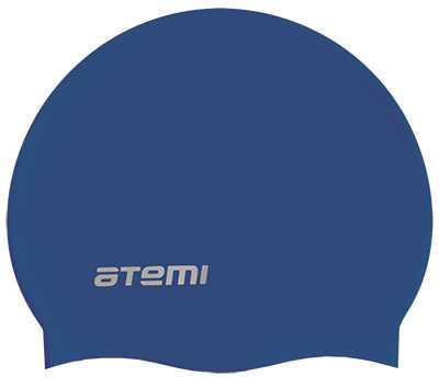 Шапочка для плавания Atemi детская, тонкий силикон, син., TC302