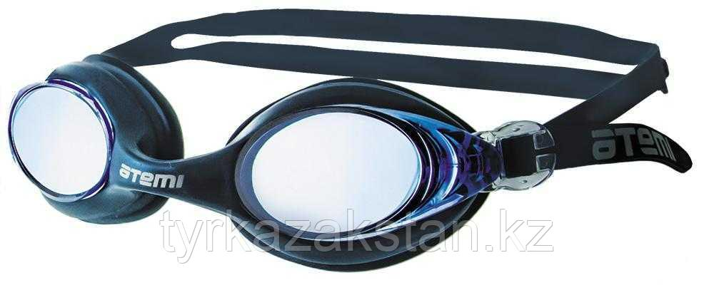 Очки для плавания Atemi, силикон (т/син), N7102