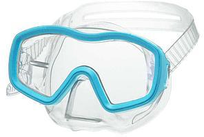 Маска для плавания Atemi детская, голубой (ПВХ), 430