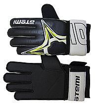 Перчатки вратарские фб ATEMI AFG-11, черн., размер S
