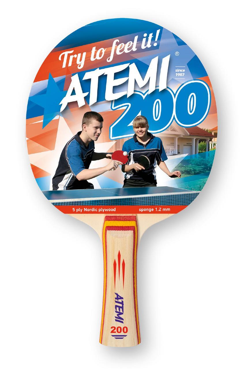 Ракетка для настольного тенниса Atemi 200 AN
