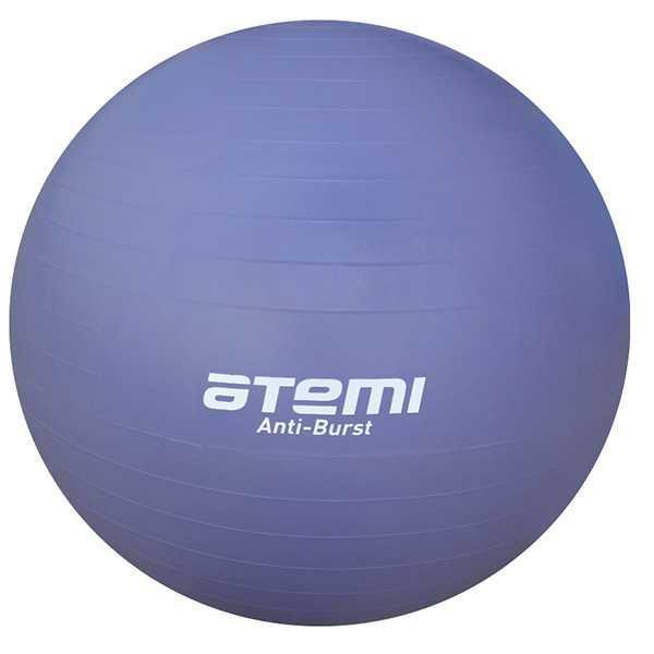 Мяч гимнастический Atemi, AGB0475, антивзрыв, 75 см