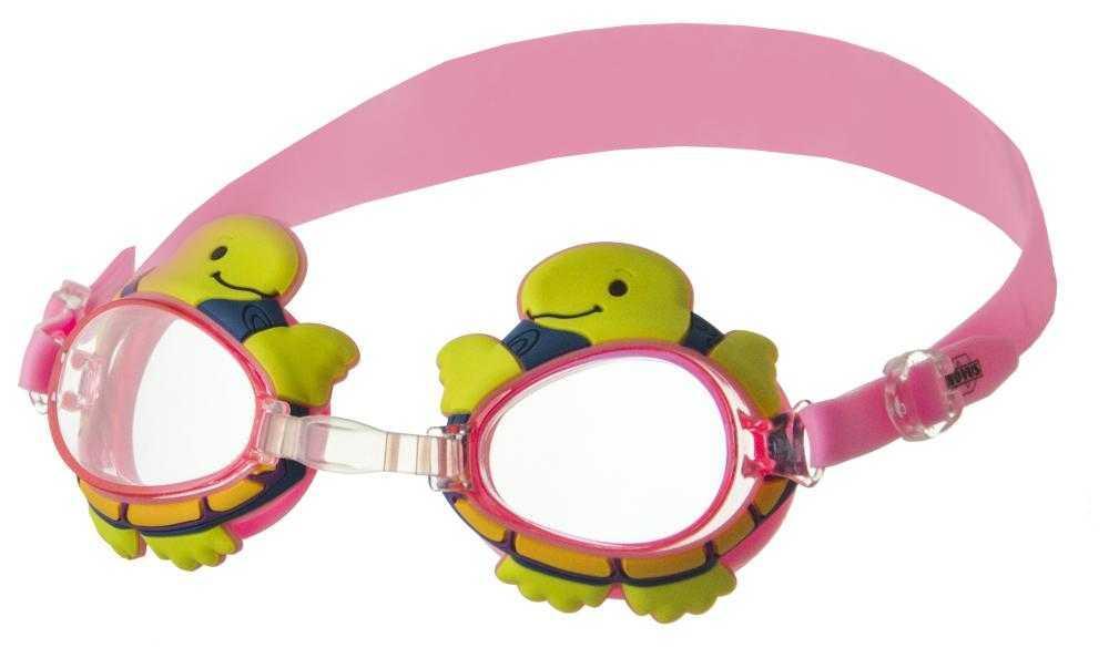 Очки для плавания Novus дет., роз (черепаха), NJG-107