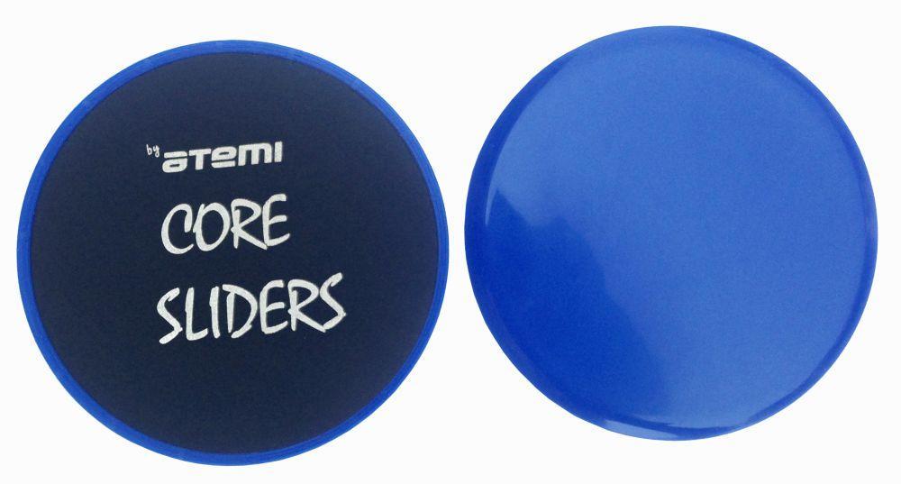 Диски для скольжения Core Sliders Atemi, 18 см, ACS01