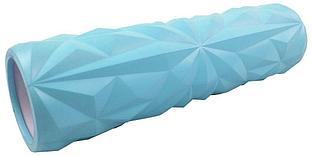Ролик массажный Atemi, AMR02BE, 33x14см, EVA, голубой