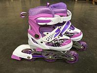Раздвижные роликовые коньки для детей NOVUS, размер 27-30, AJIS-19.01