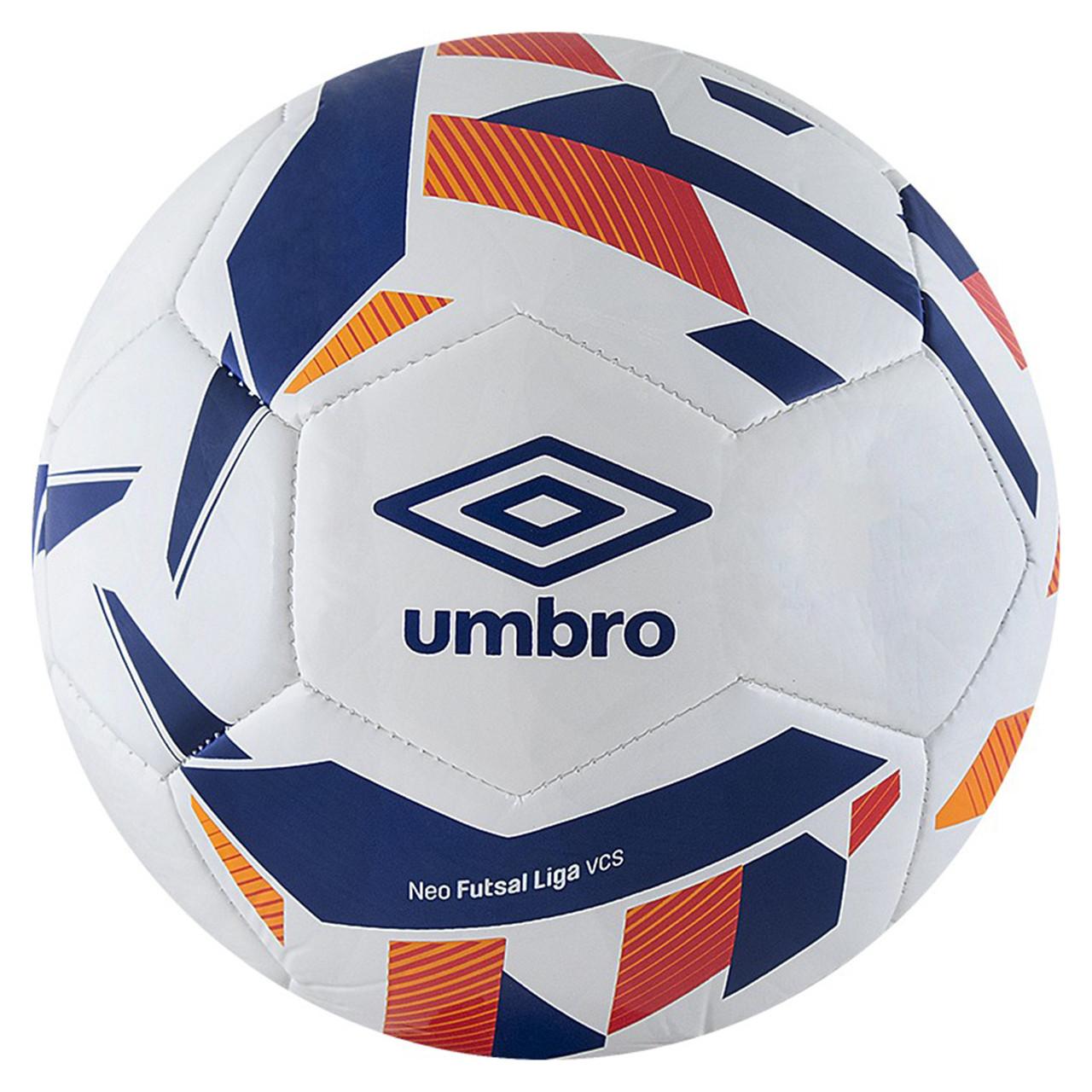 Мяч минифутбольный NEO FUTSAL LIGA, 20946U-FZM бел/син/оранж/крас, размер 4