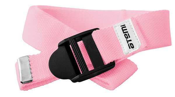 Ремешок для йоги Atemi, AYS01P, розовый