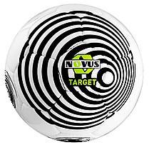 Мяч футбольный Novus TARGET, PVC, бел/чёрн, р.5