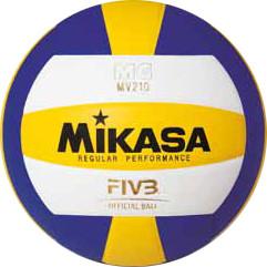 Мяч волейбольный MIKASA, синтетическая кожа (Таиланд), MV 210