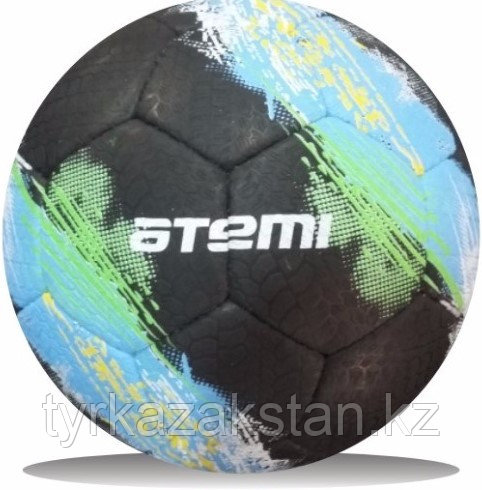 Мяч футбольный Atemi GALAXY, резина, чёрн, р.5