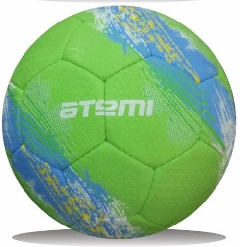 Мяч футбольный Atemi GALAXY, резина, салатовый, р.5