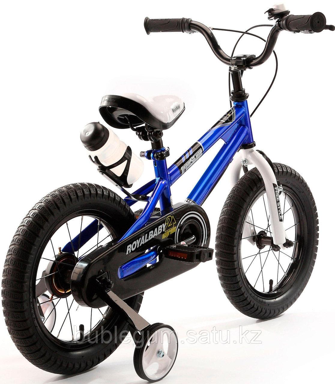 """ROYAL BABY Велосипед двухколесный FREESTYLE 16"""" Голубой BLUE"""