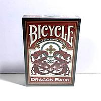 Карты Bicycle Dragon Back Red
