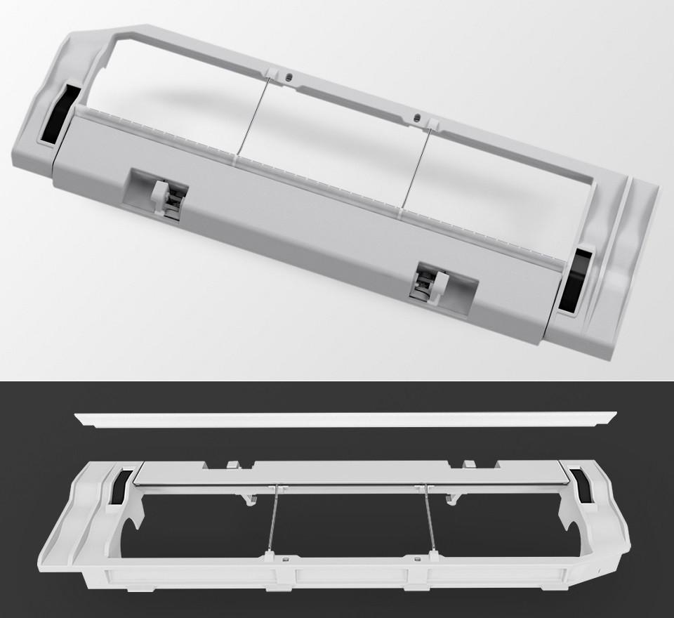 Крышка для отсека основной щетки робота-пылесоса Xiaomi/Roborock Vacuum Cleaner(серый)