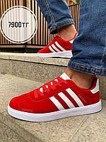Кеды Adidas Gazelle красные, фото 1