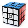 Кубик-головоломка QUIU 3х3 sail черный 6,8см