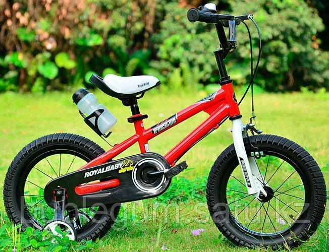 """ROYAL BABY Велосипед двухколесный FREESTYLE 16"""" Красный RED"""