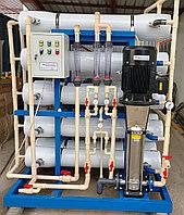 Станция обессоливания питьевой воды, обратный осмос 240 тонн в сутки