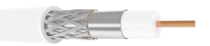 Кабель Tehnosat (100м) белый (РК-75)