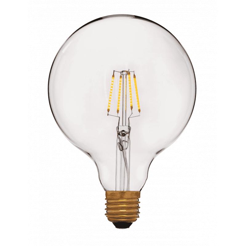 056-793а LED-Лампа G125 2C4 2200K, 4W, 400Lm, E27, Золотая, not dim