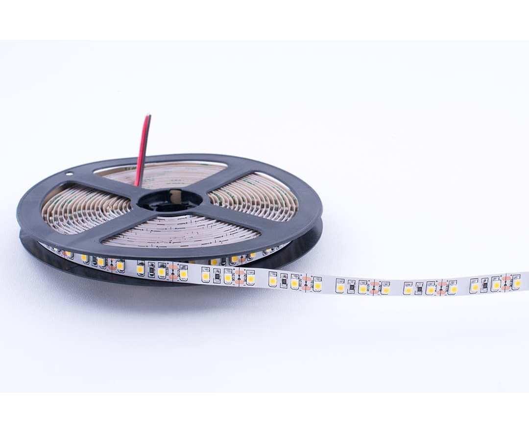 14,4 Вт/м SMD5050 (60 диодов на метр) открытая (IP33) Цвет Теплый белый 12В