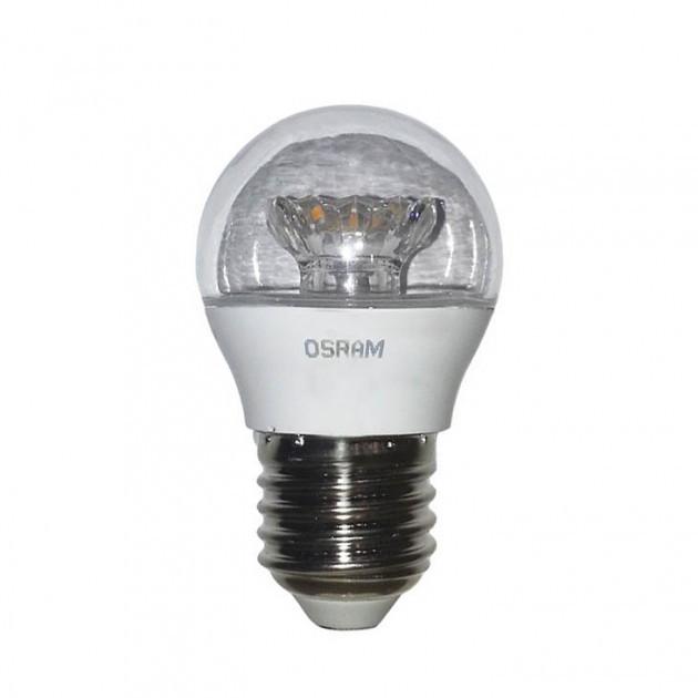 Лампа светодиодная CLP40 LS 5,4W/830 230V CL E27 10*1RU OSRAM /4052899971639/