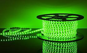 Лента LED S5050 60led/5м, IP65, зеленый