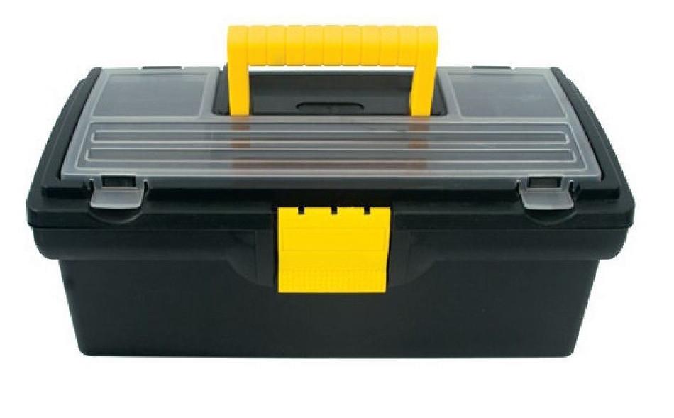 Ящик для инструмента Дельта 20191, пластиковый, 40,5*21,5*16см