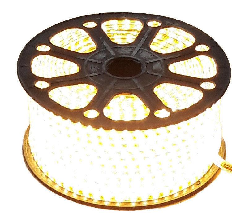 Лента светодиодная 3014 белая теплая (бухта 100м)