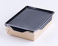 Салатник Eco OpSalad 500 мл. BLACK EDITION , 160*120*45 (БУМ, DoEco)