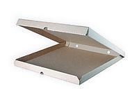 Коробка для пиццы, 360*360*40 мм, гофро, КРАФТ, профиль В
