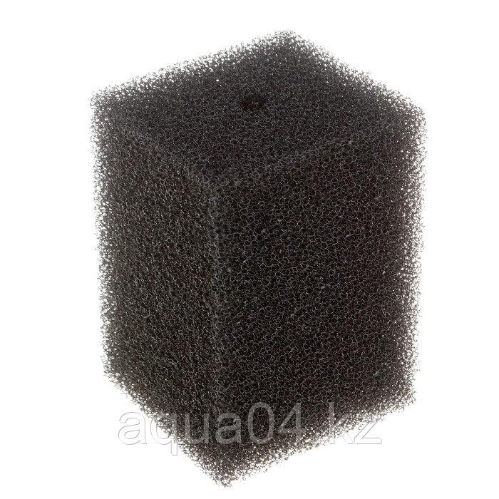 Губка прямоугольная запасная серая для фильтра турбо №10 (10х10х14 см)