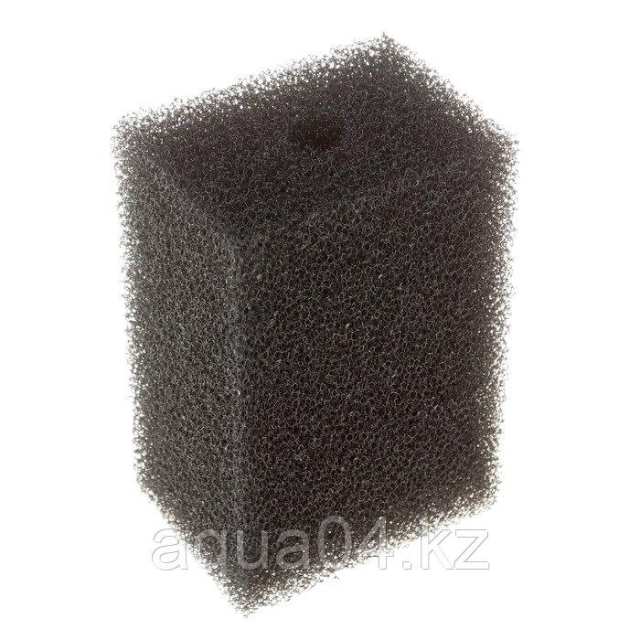 Губка прямоугольная запасная серая для фильтра турбо №16 (6,8х4,6х11 см)