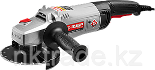 Углошлифовальная машина (болгарка), ЗУБР УШМ-150-1400 М3, удлиненная рукоятка, 150 мм, 8500 об/мин, 1400 Вт