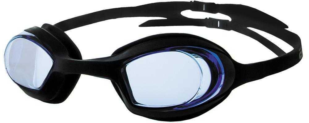 Очки для плавания Atemi, силикон (т/син), N8201