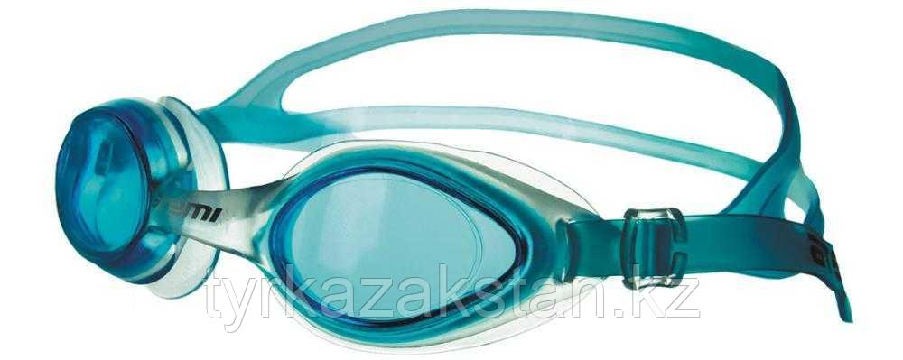 Очки для плавания Atemi, силикон (гол), N7502