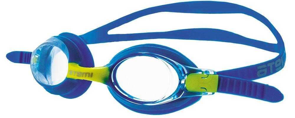 Очки для плавания Atemi, дет., силикон (гол/жёлт), M302