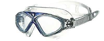Очки-полумаска для плавания Atemi, силикон (гол), Z202