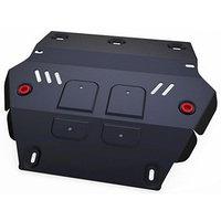 Защита радиатора АвтоБРОНЯ для Isuzu D-Max (V - 2.5TD) 2012-н.в., сталь 2 мм, с крепежом, 111.09101.1