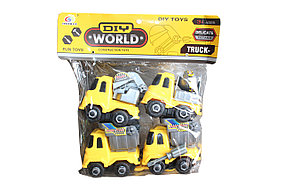 Набор строительных машин 4в1 8862