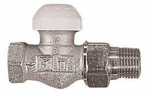 Термостатический клапан ГЕРЦ-TS-90 проходной для двухтрубной системы отопления