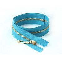 Молния 5, разъёмная, 50 см, цвет небесно-голубой (комплект из 10 шт.)