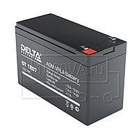 Аккумулятор Delta DT 1207, фото 1