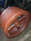 Шкив ф 510 / 60 мм, 9-ти ручейный, профиль С, фото 2