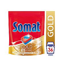 Средство SOMAT Gold для посудомоечных машин, 36 табл.