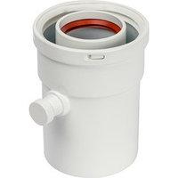 Элемент дымохода STOUT SCA-6010-000101, конденсатосборник вертикальный, DN60/100