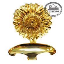 Крючок *Louis XVI*, 69х83мм, латунь полир,