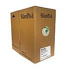 Shelbi Кабель UTP, КАТ.5E 4х2х24AWG solid, PVC, 305м, зелёный, фото 4