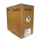 Shelbi Кабель UTP, КАТ.5E 4х2х24AWG solid, LSZH, 305м, фиолетовый, фото 4